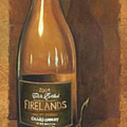 Firelands Chardonnay Poster