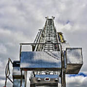 Fireman - Fire Ladder Poster