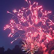 Fireworks 2014 X Poster