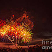 Fireworks Finale Poster by Robert Bales