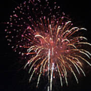 Fireworks Series Xiv Poster