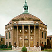 First Baptist Church Of Asheville North Carolina Poster