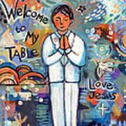 First Communion Boy Poster