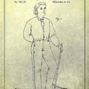 First Denim Jeans Patent Poster