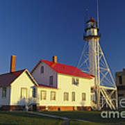 First Light At Whitefish Point Poster