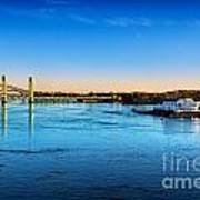 First Light Piscataqua River Poster