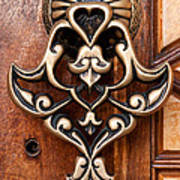 Firuz Aga Mosque Door 05 Poster