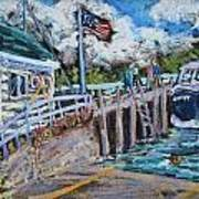 Fish Creek Boat Launch Poster