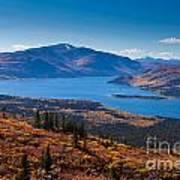 Fish Lake - Yukon Territory - Canada Poster