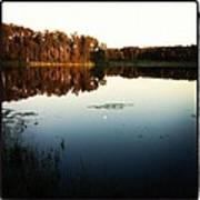 Fish Lake Evening Poster