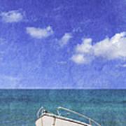 Fishing Boat Algarve Portugal Poster