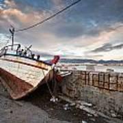 fishing boats 'XVI Poster