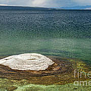 Fishing Cone In West Thumb Geyser Basin Poster