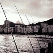 Fishing In Rio Poster
