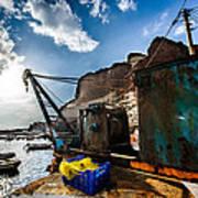 Fishing Machinery Poster