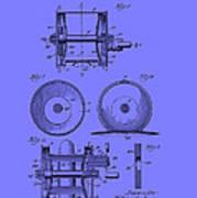 Fishing Reel Patent 1930 Poster