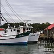 Fishing Trawlers Poster