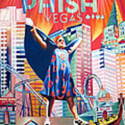 Fishman In Vegas Poster