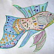 Fishstiqueart 2009 Poster by Elmer Baez