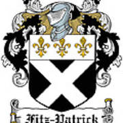 Fitzpatrick Coat Of Arms Irish Poster