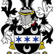 Fitzsimon Coat Of Arms Irish Poster