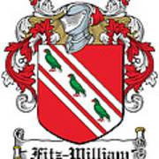 Fitzwilliam Coat Of Arms Dublin Poster