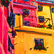 Five Terra Italy Poster
