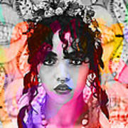 Fka Twigs Painting Poster