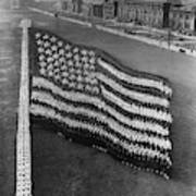 Flag Formation, C1917 Poster