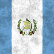 Flag Of Guatamala Poster