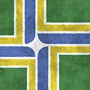 Flag Of Portland Poster