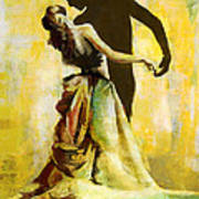 Flamenco Dancer 031 Poster