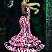 Flamenco Series No. 10 Poster