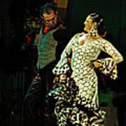 Flamenco Series No 11 Poster