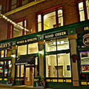 Flannerys Pub Poster by Frozen in Time Fine Art Photography