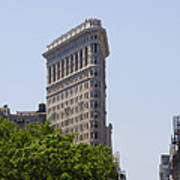Flat Iron Building Poster by Bill Cannon