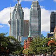 Flatiron Building Toronto 2 Poster