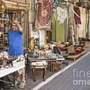 Flea Market Shop In Tel Aviv Israel Poster