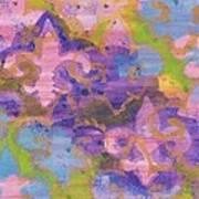 Fleur De Lis 1 Poster by Ellen Howell
