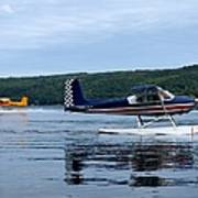Float Planes On Keuka Poster by Joshua House