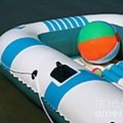 Floating Fun Poster