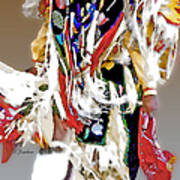 Floating Native Dancer Poster