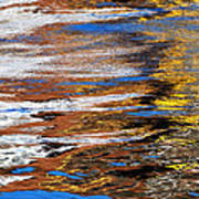 Floating On Blue 12 Poster