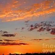 Floating Sunset Poster