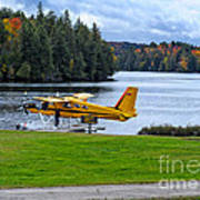 Floatplane In Fall Poster