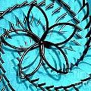 Flor Azul Poster