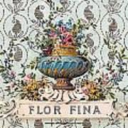 Flor Fina Poster