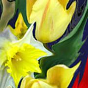 Floral Flow Poster