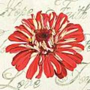 Floral Inspiration 1 Poster