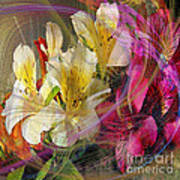 Floral Inspiration - Square Version Poster